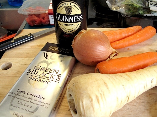 Guinness Beef Stew with Bitter Chocolate 3