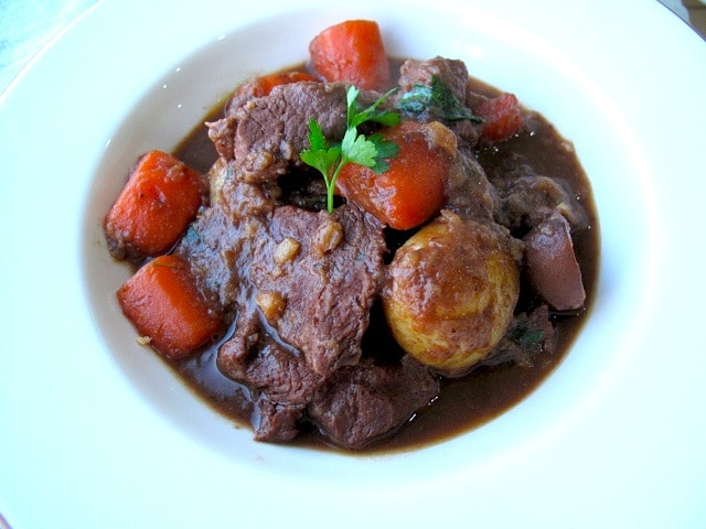 Guinness Beef Stew with Bitter Chocolate 4
