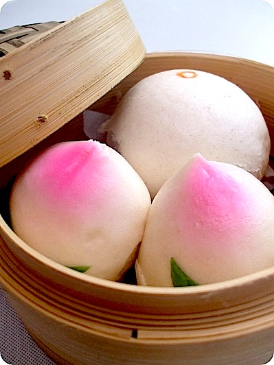 Chinese Baozi (or Steamed Buns)