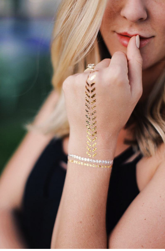 Say Yes to This Trend: Temporary Tattoos